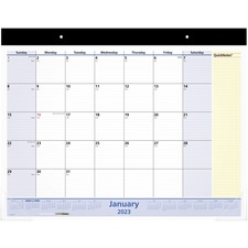 AAGSK70000 - At-A-Glance QuickNotes Monthly Desk Pad
