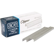 ACE70001 - Advantus Ace Undulated Clipper Staples