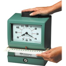 ACP 011070400 Acroprint Manual Heavy-duty Time Clock ACP011070400