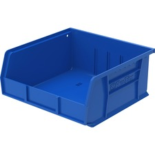 "Akro-Mils Akrobins Storage Bins - 5"" Height x 11"" Width x 10.9"" Depth - Rack-mountable - Blue - Polymer - 1Each"