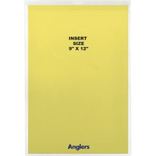 Anglers Sturdi-Kleer Vinyl Envelopes with Flaps