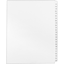 AVE01336 - Avery&reg Standard Collated Legal Exhibit Divider Sets - Avery Style