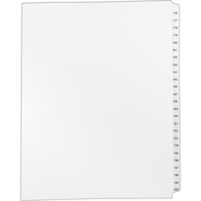 AVE01337 - Avery® Standard Collated Legal Exhibit Divider Sets - Avery Style