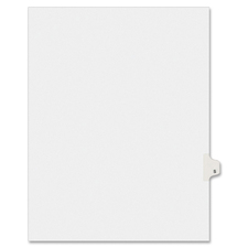 AVE 01419 Avery Individually Lettered Tabs Legal Dividers AVE01419