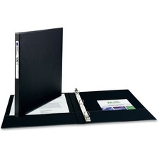 AVE 03201 Avery Matte Cover Round Ring Economy Binder AVE03201