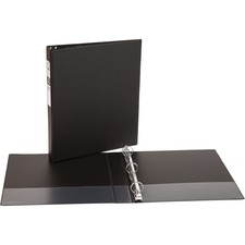 AVE 03301 Avery Matte Cover Round Ring Economy Binder AVE03301