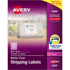 AVE 5664 Avery Easy Peel Return Address Labels AVE5664