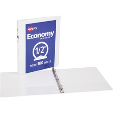 AVE05706 - Avery&reg Economy View Binders with Round Rings - without Merchandising