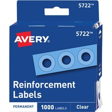 AVE 05722 Avery Self-Adhesive Reinforcement Label Rings  AVE05722