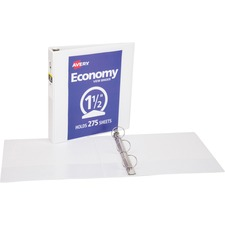 AVE05726 - Avery® Economy View Binders with Round Rings - without Merchandising