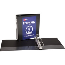 AVE05740 - Avery® Economy View Binders with Round Rings - without Merchandising