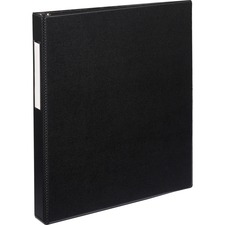 AVE 08302 Avery EZD Ring Durable Binder w/Label Holders AVE08302