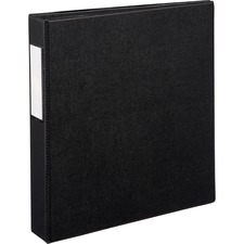 AVE 08402 Avery EZD Ring Durable Binder w/Label Holders AVE08402