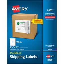 AVE8465 - Avery® Shipping Labels with TrueBlock Technology