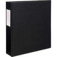 AVE 08502 Avery EZD Ring Durable Binder w/Label Holders AVE08502