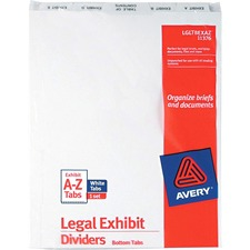 AVE11376 - Avery® Premium Collated Legal Exhibit Divider Sets - Avery Style