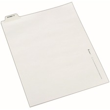 AVE12389 - Avery® Individual Legal Exhibit Dividers - Avery Style