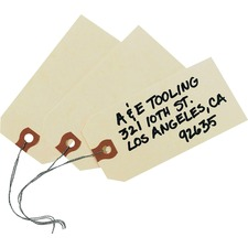 AVE 12604 Avery Wired Manila Shipping Tags AVE12604