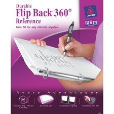 AVE17580 - Avery&reg Flip Back 360 Durable View Binders with Round Rings