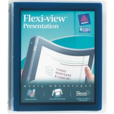 AVE17685 - Avery® Flexi-View Binders with Round Rings