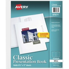 AVE 47671 Avery Classic Presentation Book AVE47671