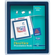 AVE47692 - Avery&reg Flexi-View Presentation Books