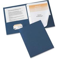AVE 47975 Avery 2-Pocket Folders w/ Fasteners AVE47975