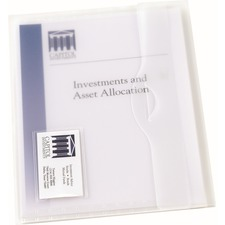AVE 72278 Avery Translucent Document Wallets AVE72278