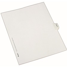 AVE82121 - Avery&reg Individual Legal Exhibit Dividers - Allstate Style
