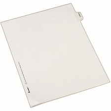 AVE82125 - Avery® Individual Legal Exhibit Dividers - Allstate Style