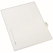 AVE 82130 Avery EXHIBIT Tab Individual Legal Dividers AVE82130