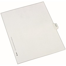 AVE82137 - Avery&reg Individual Legal Exhibit Dividers - Allstate Style