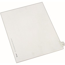 AVE 82225 Avery Side-Tab Number Individual Legal Dividers AVE82225