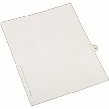 AVE82233 - Avery&reg Individual Legal Exhibit Dividers - Allstate Style