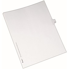 AVE82238 - Avery&reg Individual Legal Exhibit Dividers - Allstate Style