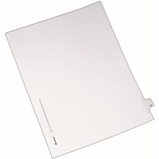 AVE82251 - Avery&reg Individual Legal Exhibit Dividers - Allstate Style