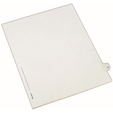 AVE82252 - Avery&reg Individual Legal Exhibit Dividers - Allstate Style