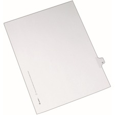 AVE82255 - Avery&reg Individual Legal Exhibit Dividers - Allstate Style