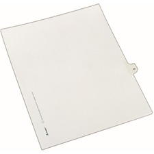 AVE82258 - Avery&reg Individual Legal Exhibit Dividers - Allstate Style