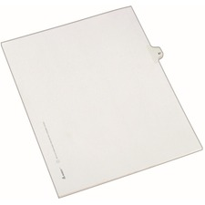AVE82265 - Avery® Individual Legal Exhibit Dividers - Allstate Style