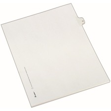 AVE82268 - Avery&reg Individual Legal Exhibit Dividers - Allstate Style