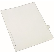 AVE82280 - Avery® Individual Legal Exhibit Dividers - Allstate Style