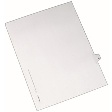 AVE82281 - Avery® Individual Legal Exhibit Dividers - Allstate Style