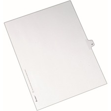 AVE82285 - Avery&reg Individual Legal Exhibit Dividers - Allstate Style