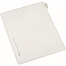 AVE82330 - Avery&reg Individual Legal Exhibit Dividers - Avery Style