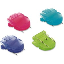 AVT 75307 Advantus Brightly Colored Panel Wall Clips AVT75307