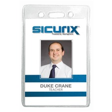 BAU 67820 Baumgartens Sicurix Standard ID Badge Holders BAU67820