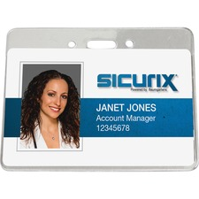 BAU67870 - SICURIX Horizontal ID Badge Holder