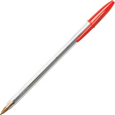 BIC MS11RD Bic Classic Cristal Ballpoint Pens BICMS11RD