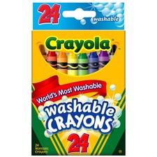 CYO 526924 Crayola Ultra Clean Washable Crayons CYO526924